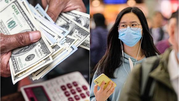 Expansión de la epidemia genera alerta en los mercados y volatilidad en el tipo de cambio. Foto: Composición.