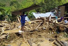 Cajamarca: desborde de varias quebradas deja más de 13 familias damnificadas