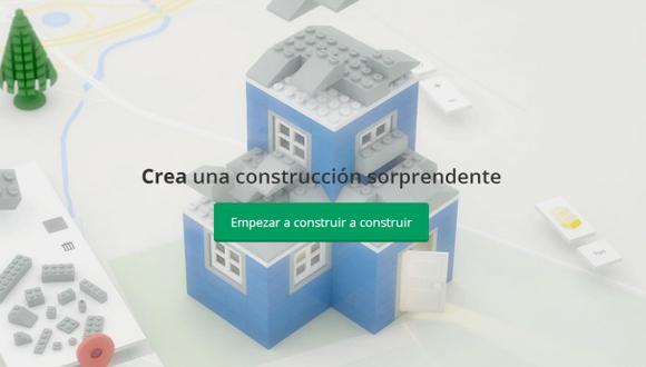 Puedes construir con Lego a través del navegador Google