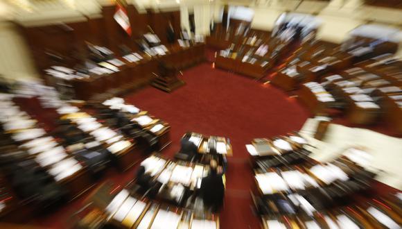El debate de la bicameralidad sigue bajo análisis. (Foto: Alonso Chero/El Comercio)