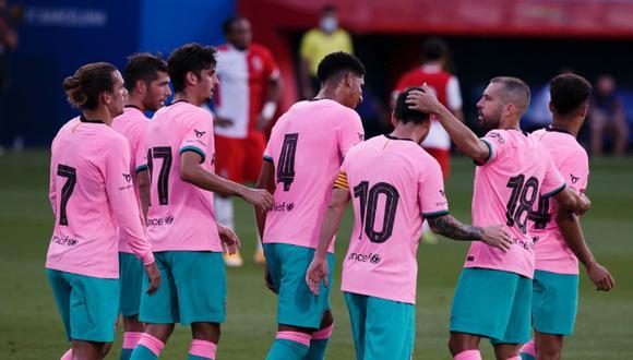 Los azulgranas ganaron su segundo amistoso de pretemporada. (Foto: FC Barcelona)