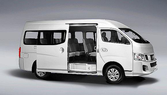Nissan llama a revisión en Perú a 126 vehículos modelo Urvan