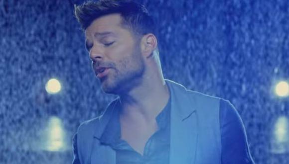 "Ricky Martin estrena en YouTube su videoclip ""Perdóname"""