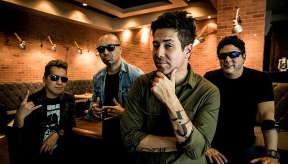 Randy Cuevas, Christian Torres, Emilio Regueira, Javier Saavedra son los integrantes de Los Rabanes.