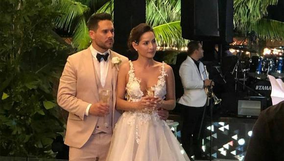 Sebastián Caicedo revela de qué forma sorprendió a la actriz con su traje de novio. (Foto: @cvillaloboss_fans)