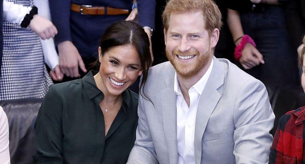 Meghan Markle y el príncipe Harry  son padres de un niño, Archie, desde hace ocho meses (Foto: AFP)