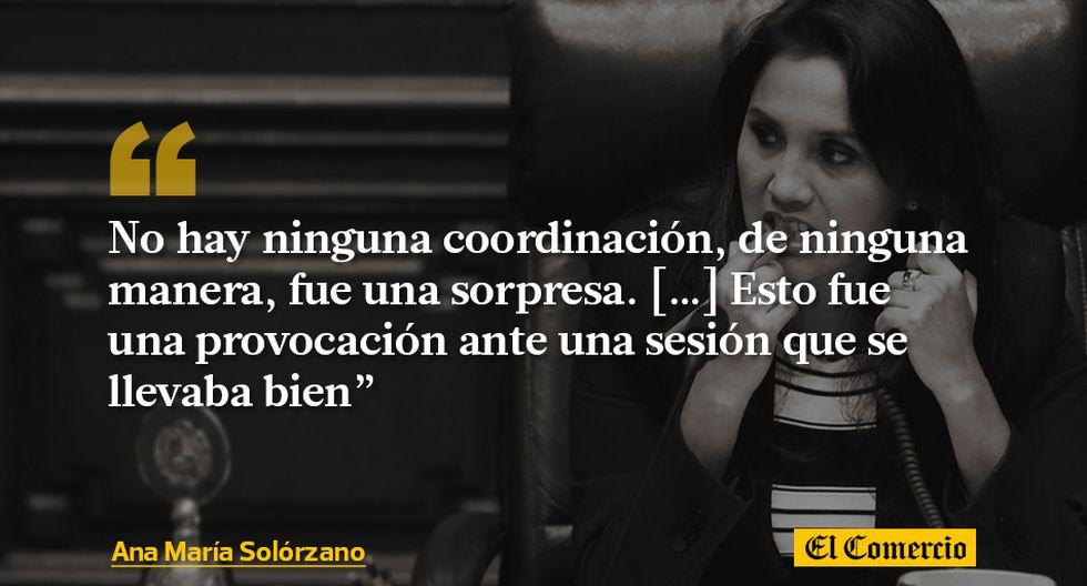 Ana María Solórzano 10 Frases De Su Gestión En El