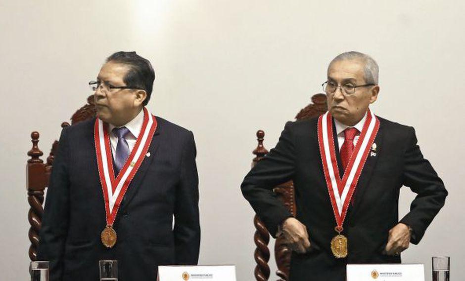 Pablo Sánchez fue fiscal de la Nación antes de que Pedro Chávarry asumiera el cargo en julio. Sánchez ahora está encargado de la Primera Fiscalía Suprema en lo Penal. (Foto: USI)