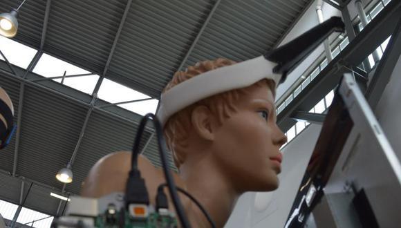 El prototipo del proyector hace parte de una serie propuesta en 2017 por estudiantes holandeses de diseño. (Foto: Jing-cai Liu)