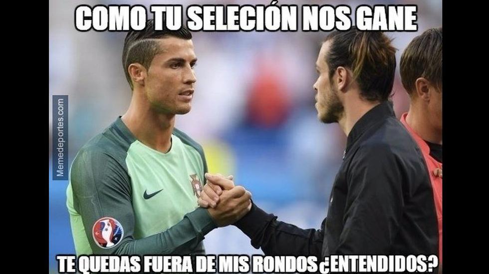 Los infaltables memes del triunfo de Portugal sobre Gales - 4