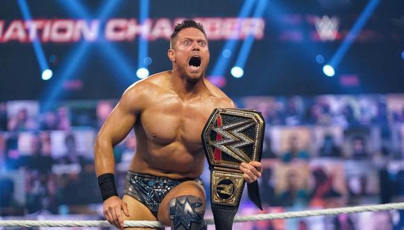 The Miz cerró como nuevo campeón de la WWE tras vencer a Drew McIntyre | Foto: WWE