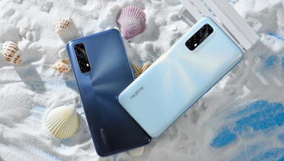 Realme 7 y Realme 7 Pro, los teléfonos de la firma china llegaron a México | Foto: Realme