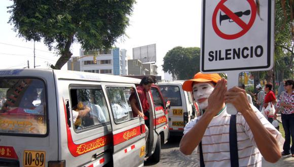Miraflores: municipio lanza campaña contra el ruido del claxon