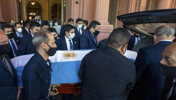 Diego Maradona falleció el pasado martes de un paro cardiorespiratorio. (Foto: AFP)