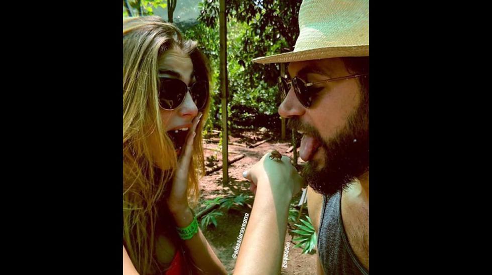 Chad Campbell, esposo de Stephanie Cayo, también estuvo en Tarapoto. (Foto: Instagram)