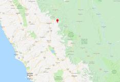 Huánuco: sismo de magnitud 3.7 se registró en la provincia de Pachitea