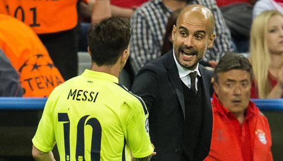 Lionel Messi y Pep Guardiola fueron parte de la consecución de dos títulos de la Champions League del Barcelona. (Foto: AFP)