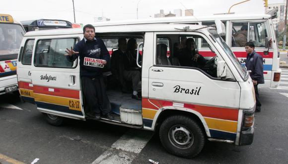 Adiós 'china': en corredores licitados no cobrarán S/.0.50