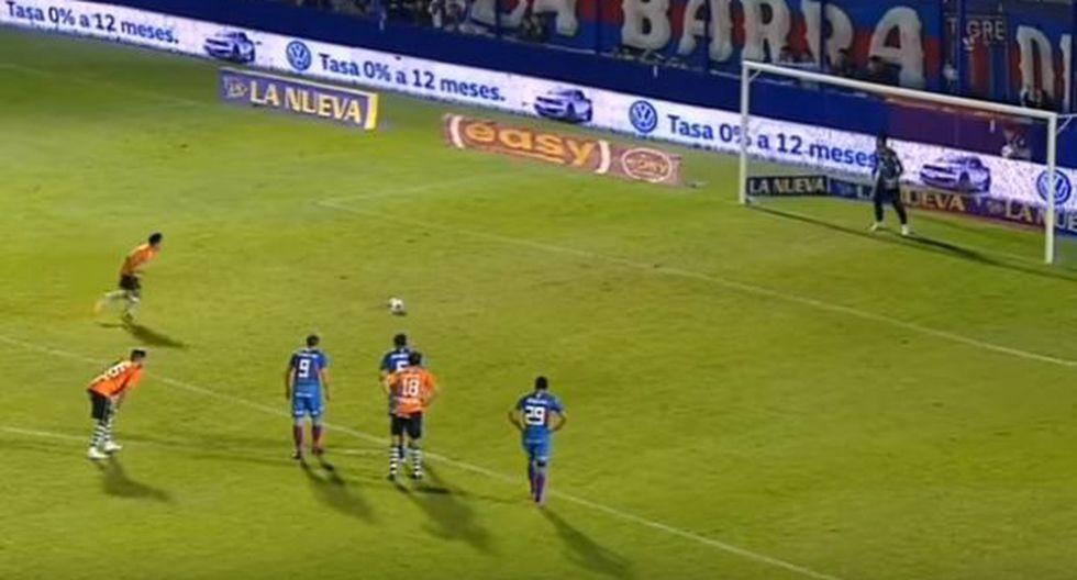 El terrible tiro penal del argentino Brian Sarmiento [VIDEO]