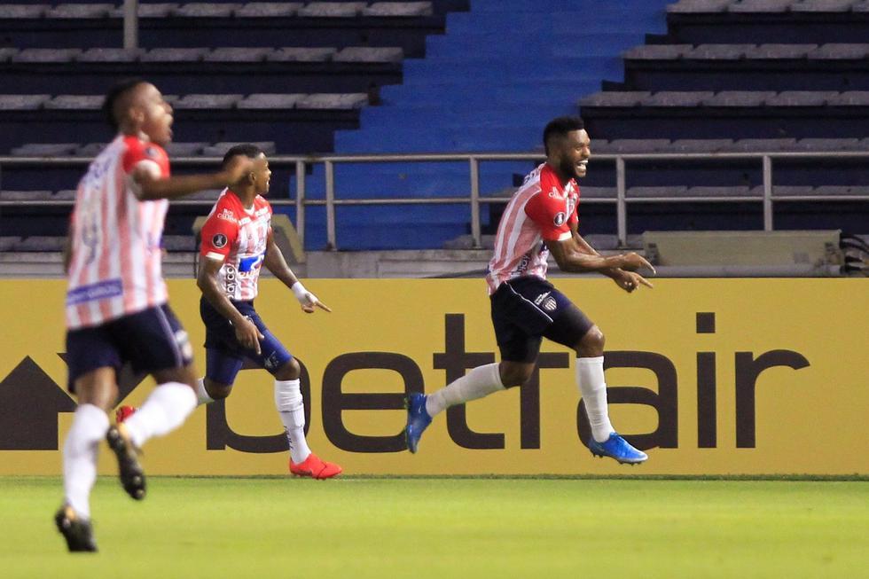Junior enfrentó a Bolívar por la Copa Libertadores