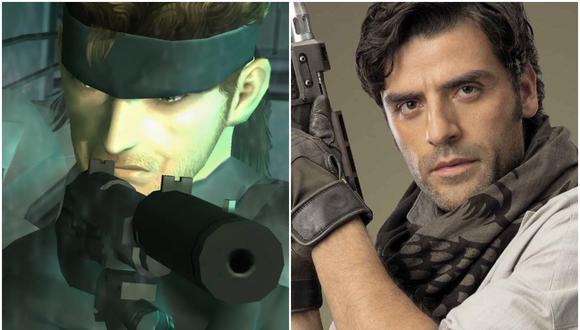 """Oscar Isaac (derecha) traerá a la vida al personaje de Solid Snake en la adaptación de """"Metal Gear Solid"""". (Foto: Konami / Lucasfilm)"""
