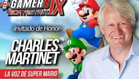 Actor que da la voz de Mario Bros llegará a Perú [VIDEO]