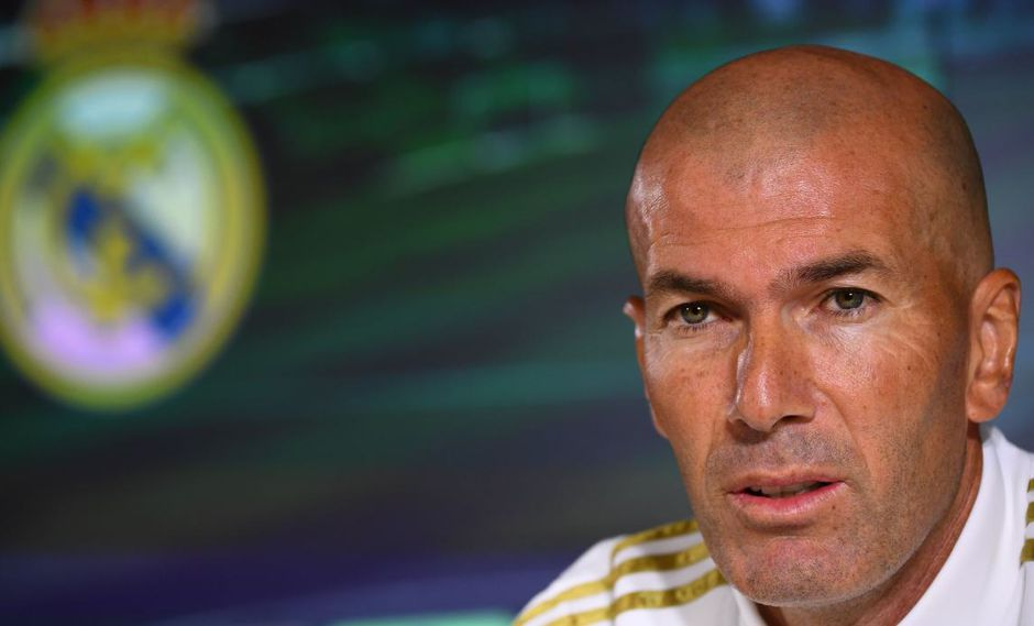 Zinedine Zidane se refirió a la jugada polémica del encuentro con Betis. (Foto: AFP)