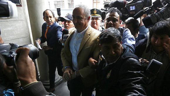 Alex Kouri cumple condena en el Penal de Ancón II (Foto: GEC)