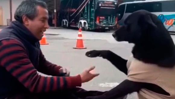 El video de un perro pidiendo a un lustrador de zapatos que limpie sus patas ha causado furor en Internet. Mira el video Youtube. (Captura)