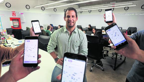 Jorge Romero comenta que con la integración se han convertido en la 'app' con mayor cobertura a nivel nacional (Foto: Juan Ponce / El Comercio)