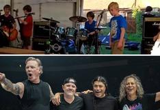 Banda infantil sorprende al mundo con su versión de 'Enter Sandman' de Metallica