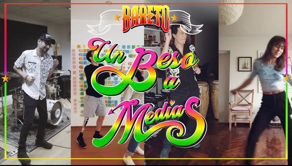 """""""Bareto"""" lanza tutorial para Tik Tok de su nuevo tema """"Un beso a medias"""". (Foto: Bareto)"""
