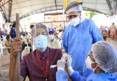 Loreto: cerca de 6 mil adultos mayores fueron inmunizados contra el COVID-19 en Iquitos