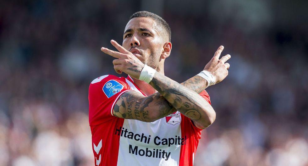 Sergio Peña, de 24 años, integra las filas del Emmen FC, de Holanda. (Foto: Agencias)