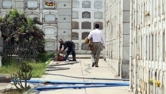 Cierran cementerios El Ángel y Presbítero Maestro por dengue