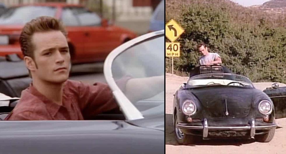 Dylan McKay, el recordado personaje interpretado por Luke Perry en la serie Beverly Hills 90210, conducía un Porsche 356 Speedster. (Foto: Difusión)