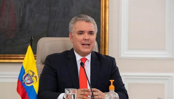 El presidente de Colombia, Iván Duque, autorizó un préstamos de 370 millones de dólares para la empresa Avianca. (Foto: EFE).