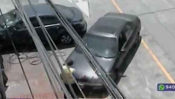El conductor está en calidad de detenido. (Foto: Captura/Latina)