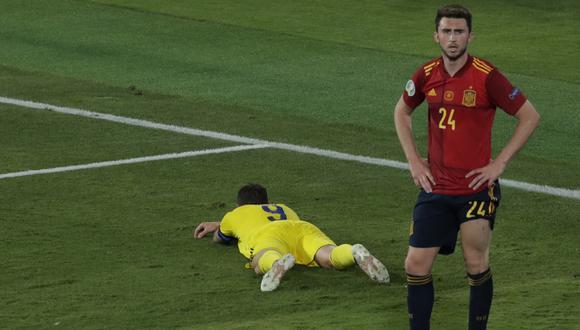 España no pudo convertir goles en su debut de la Eurocopa 2020 (Foto: AFP)