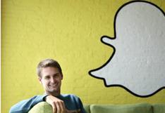 Snapchat: fundador es el multimillonario más joven del mundo