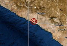 Arequipa: sismo de magnitud 4 se reportó en Camaná esta tarde, señaló el IGP
