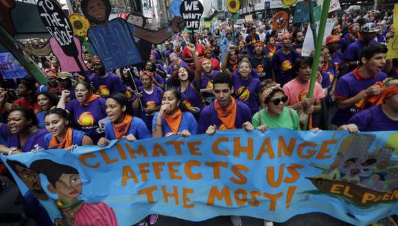 Marcha mundial por el clima movilizó a 600 mil personas