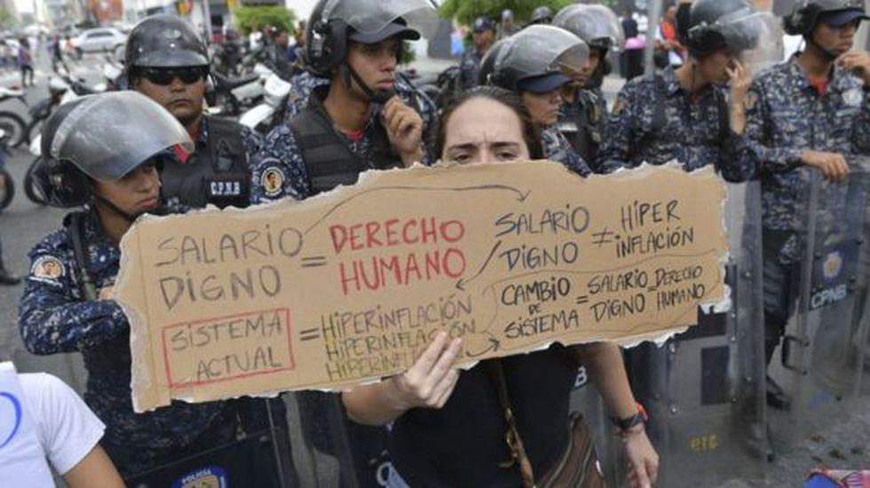 La hiperinflación y el colapso de los servicios públicos que propician la inestabilidad social ayudan a posicionar a Caracas en el primer lugar de la lista. (Foto: Getty Images)