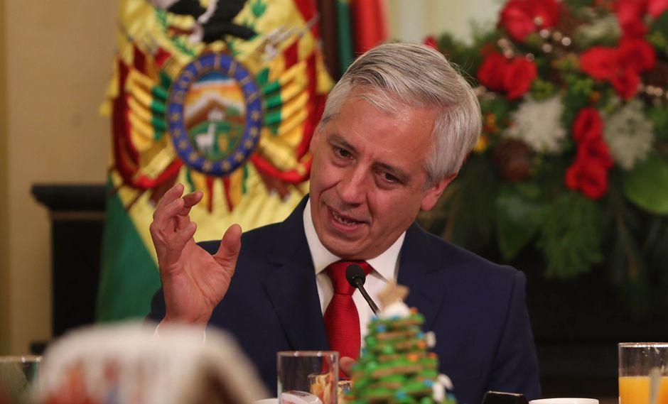 El vicepresidente de Bolivia, Álvaro García Linera, se pronunció sobre el caso de violación grupal de La Manada boliviana. Foto: EFE