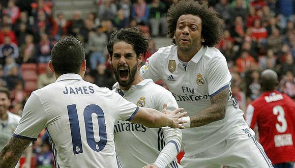 Real Madrid daría salida a Isco y Marcelo en el mercado de fichajes de invierno. (Foto: AFP)