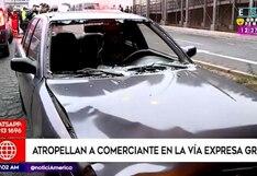 Lima: atropellan mujer en Vía Expresa Grau