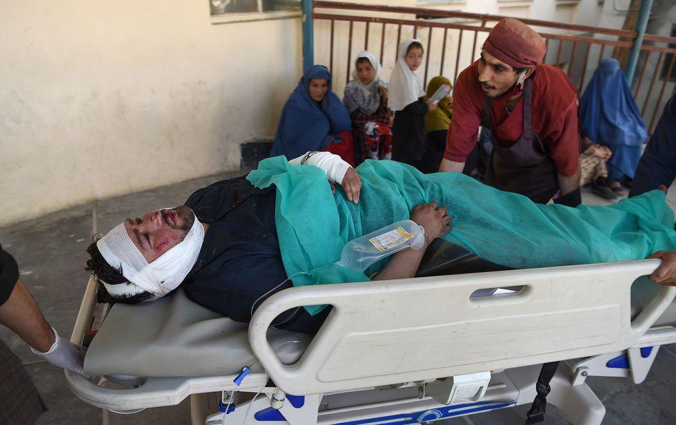 Talibanes causan 24 muertos en mitin del presidente de Afganistán Ashraf Ghani. (AFP).