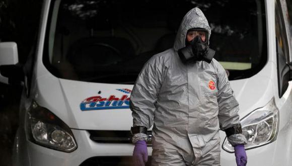 Expertos de la defensa británica fueron lo que identificaron la sustancia en el caso Skripal. (AFP).