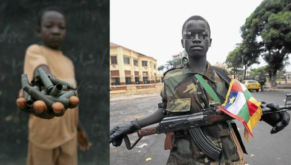 África: Más de 350 niños soldados liberados por grupos armados