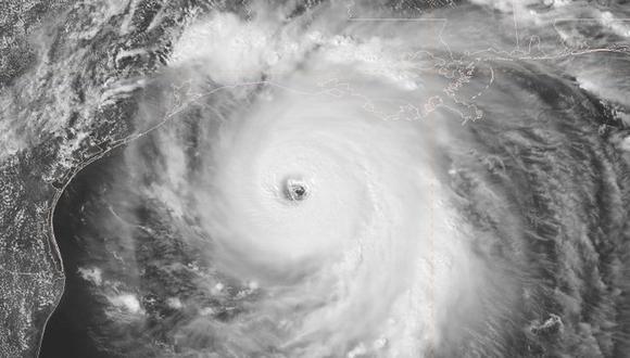El huracán Laura avanza hacia Texas y Louisiana en categoría 4. (Centro Nacional de Huracanes).